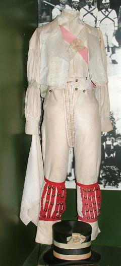 1895.46.1 Morris dancer's costume