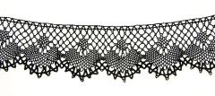 1917.28.19 Sample of black Yak lace
