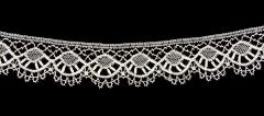 1917.28.20 White lace made by Mrs Campbell of Bicester