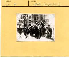 1965.5.1.241 Beating the bounds, Oxford. Ellen Ettlinger's card.
