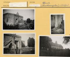 1965.5.1 32-35 Photographs of Oxfordshire churches, by Ingegard Vallin. Donated by Ettlinger