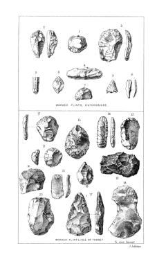 Flints from Oxfordshire and the Isle of Thanet, Journal of the Ethnological Society 1869