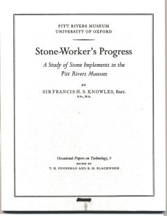Occasional paper 'Stone-Worker's Progress' by Francis Knowles