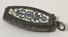 Russian enamelled tinder box bequeathed by Balfour 1938.35.799