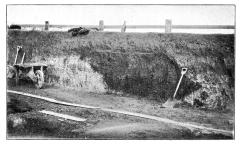 Wolvercote Brick Pit Section [Bell 1904:128, figure 2]